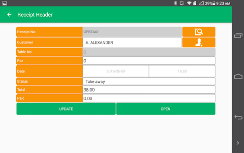 XpressWaiter for POS- screenshot thumbnail