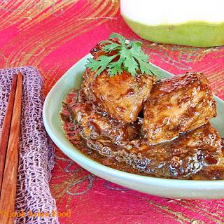 Vietnamese Chicken in Coconut Juice