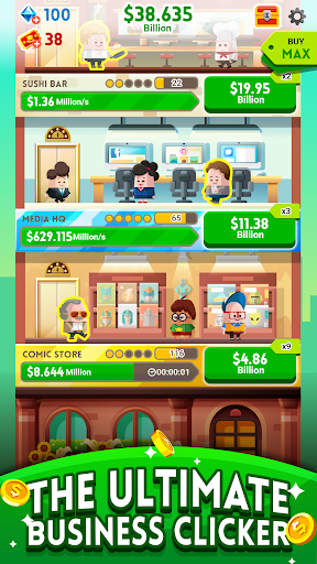 Cash, Inc. Money Clicker Game & Business Adventure game (apk) free download for Android/PC/Windows screenshot
