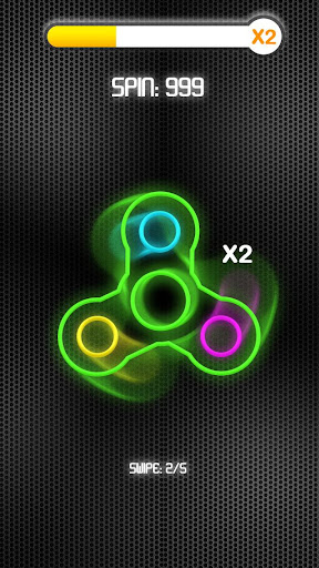 Fidget Spinner Neon screenshot 2