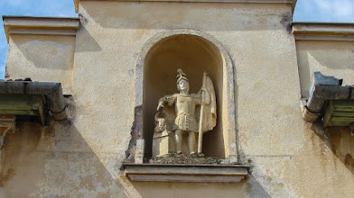 Photo: Str. Mihai Eminescu, Nr.3 - Statuia Sfantului Florian - (2013.06.14)