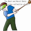 The Best & Worst Shots of golf icon