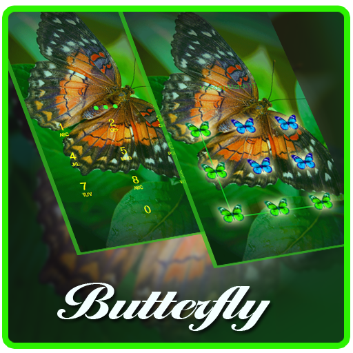 Pretty Butterfly AppLock