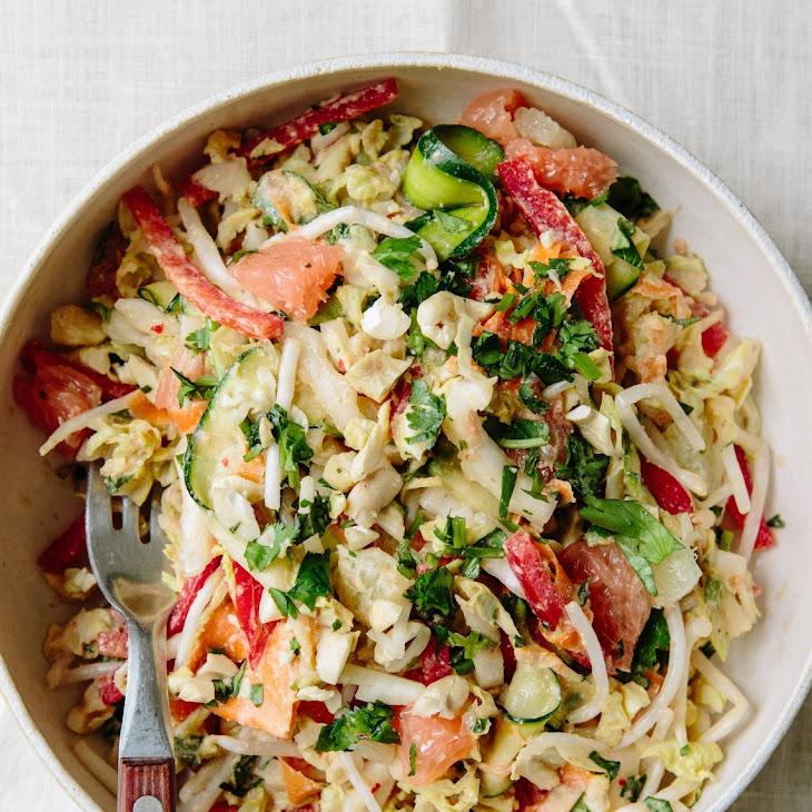 Anna Jones' Raw Thai Citrus Crunch Salad Recipe