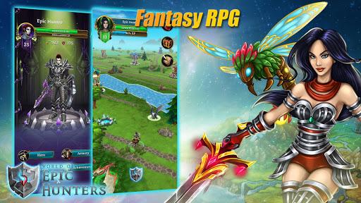 Code Triche World of Epic Hunters apk mod screenshots 1