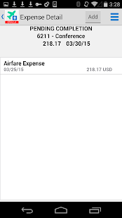 Expense Entry for JDE E1- screenshot thumbnail