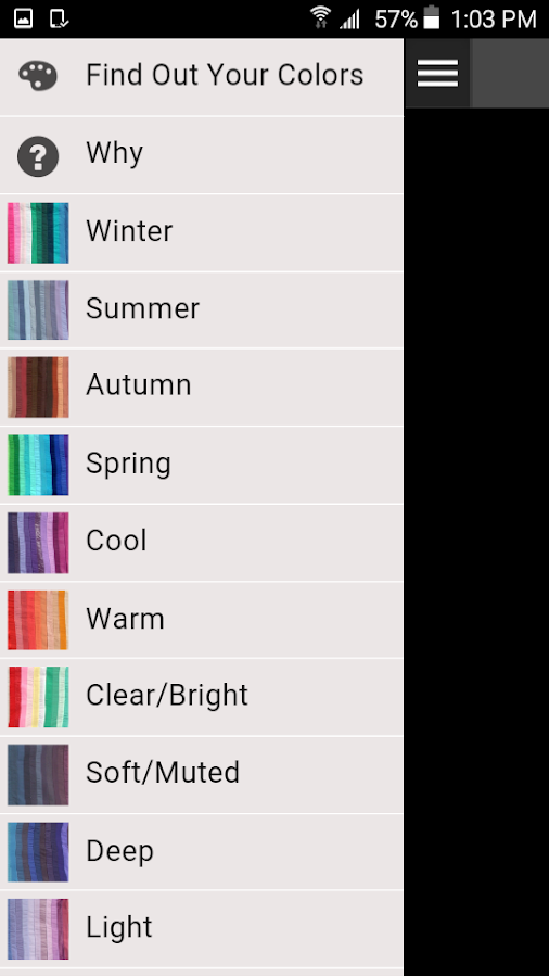 Shopping My Colors- screenshot