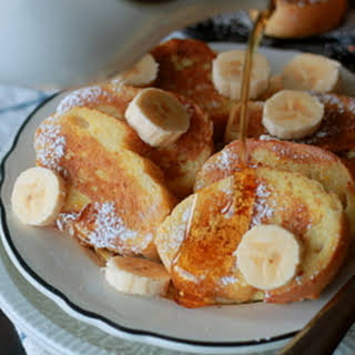 Silver Dollar French Toast.
