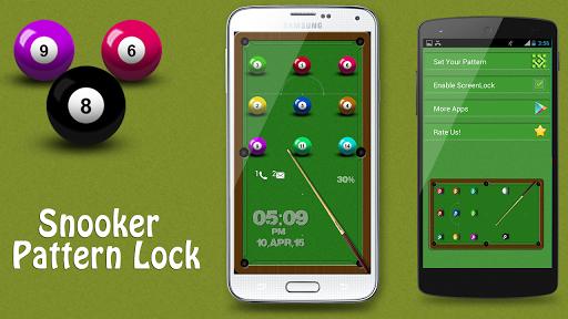 Snooker Pattern Lock