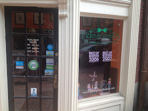 Photo: Clevergreen Cleaners in Medford, MA proudly displaying their BBB Accreditation