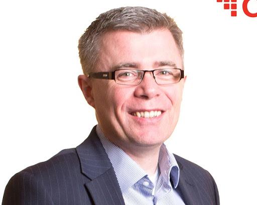 CSG's SVP & Head of EMEA Business James Kirby.