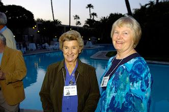 Photo: Marian Blake Rowe and Nancy Ford Truher