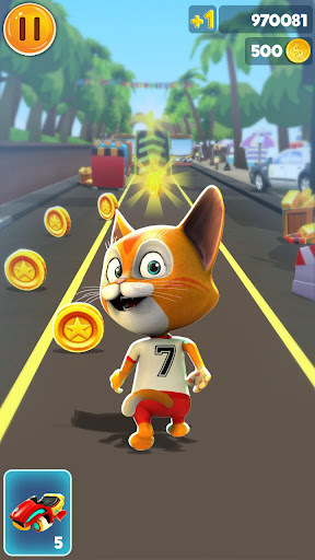 Cat Run Simulator 3D : Build & Design Home 2.3 screenshots 2