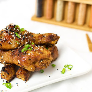 Baked-Fried Japanese Chicken Drums