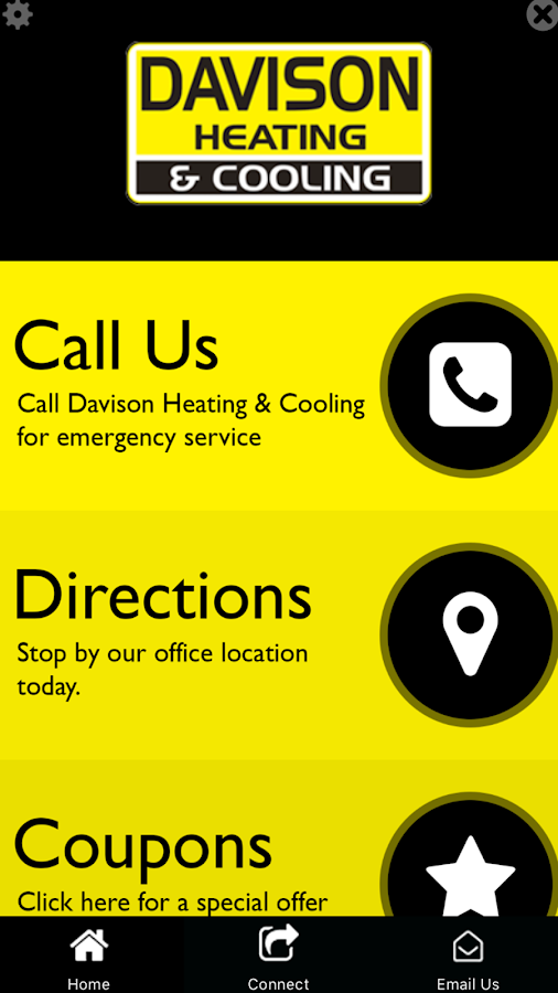 Davison Heating & Cooling- screenshot