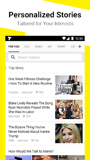 TopBuzz - Trending Videos, News & Funny GIFs for PC