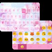 Pink Butterfly Keyboard Theme