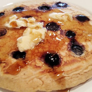 Traditional Blueberry Pancakes