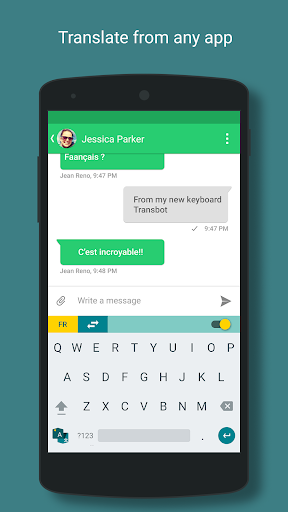 how to change keyboard language in android