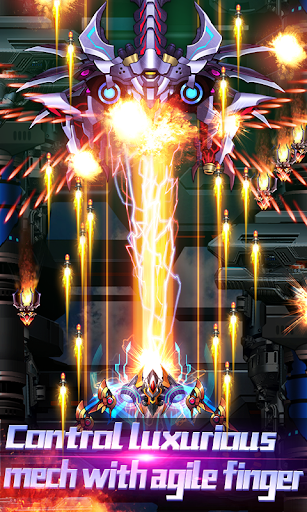 Thunder Assault: Raiden Striker 1.6.3 APK MOD screenshots 2