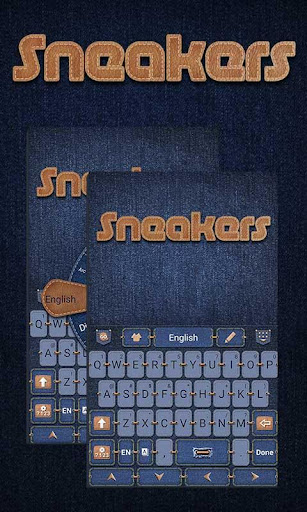 Sneakers GO Keyboard