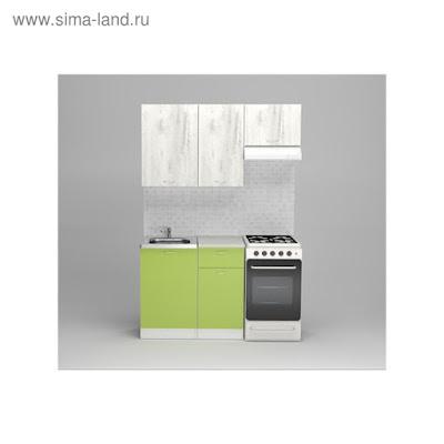 Кухонный гарнитур Юлиана медиум, 1400 мм
