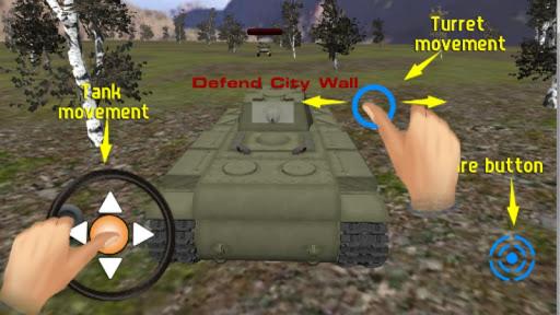 現代の戦車戦争3D