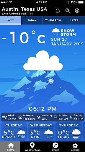 Screenshot for Local Weather Channel Weather Forecast Weather Map in United States Play Store