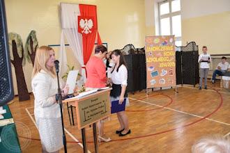 Photo: Zakończenie roku szkolnego klas IV-VI - wyróżnieni uczniowie