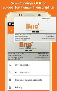 Bric business card scanner apprecs bric business card scanner screenshot reheart Choice Image