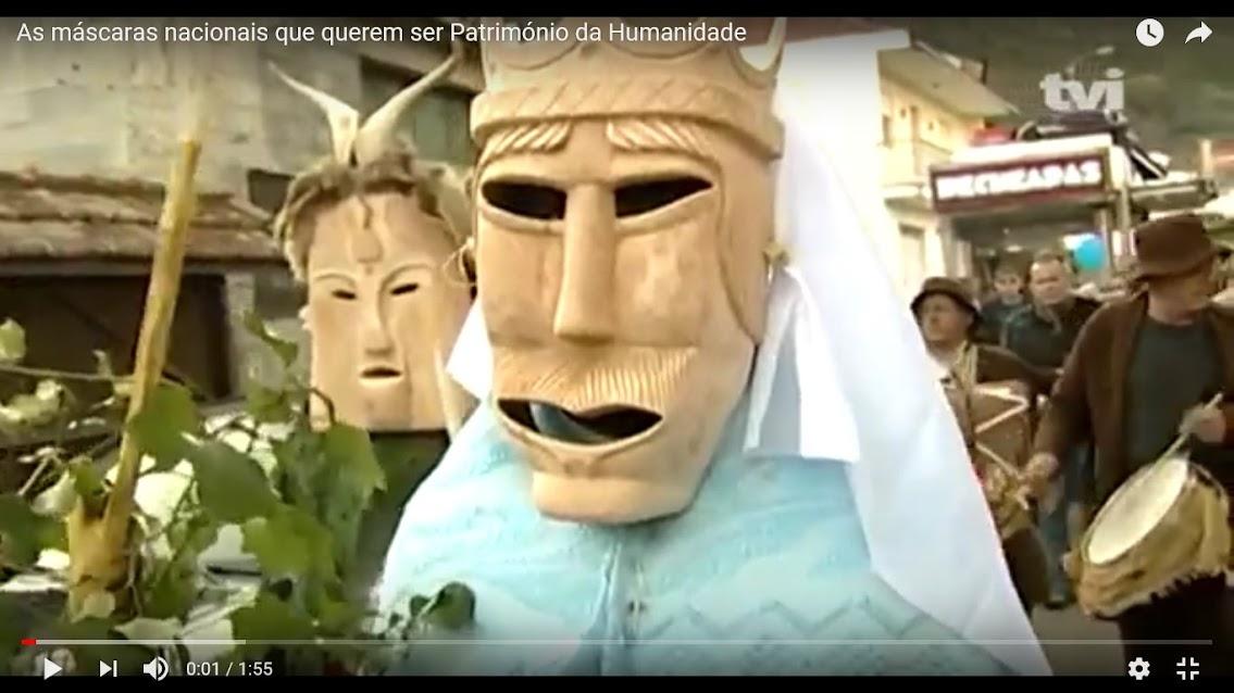 Vídeo - As máscaras nacionais que querem ser Património da Humanidade