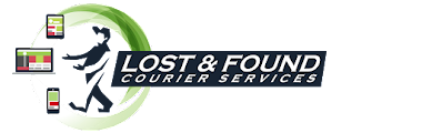 Lost and found logo in derbyshire, UK