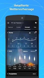 GO Wetter Vorhersage& Widgets Screenshot