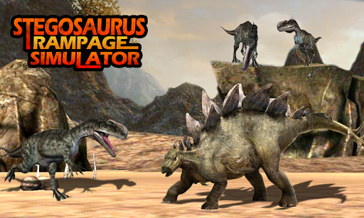 Stegosaurus Rampage Simulator