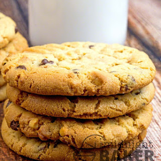 Chunky Peanut Butter Cookies.