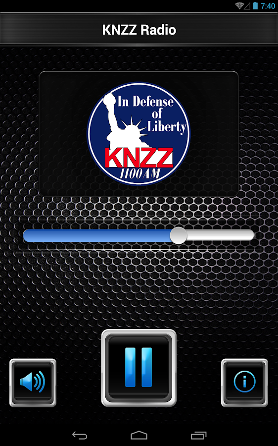 KNZZ Radio- screenshot
