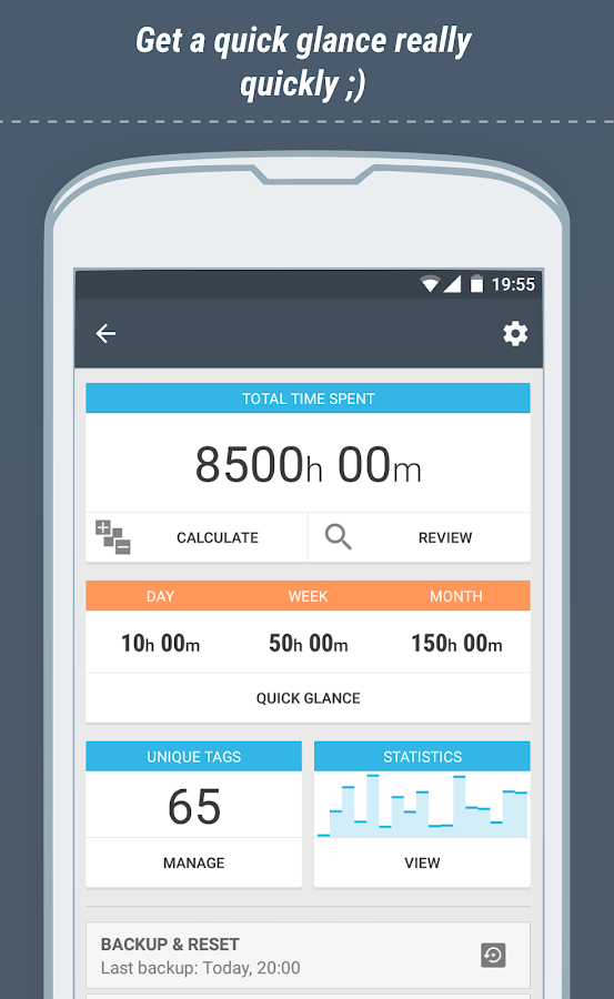 Time Meter Time Sheet- screenshot