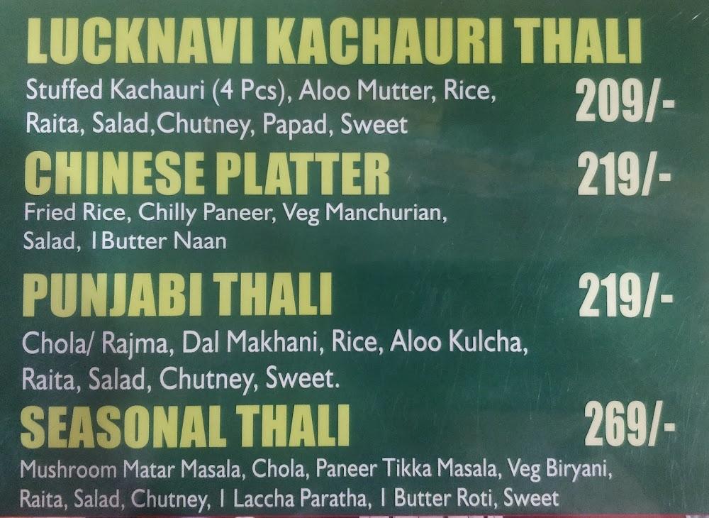 Nathu's menu 3
