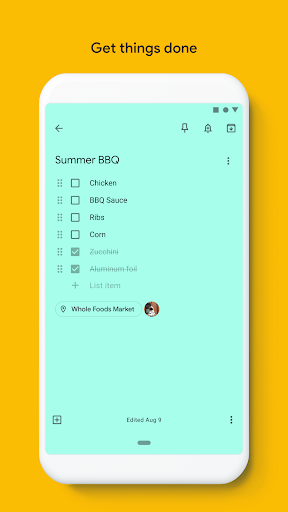 Google Keep - Notes and Lists 5.20.321.03.40 screenshots 2