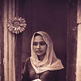blossom germ 3 by Lanoi Krueger - People Portraits of Women