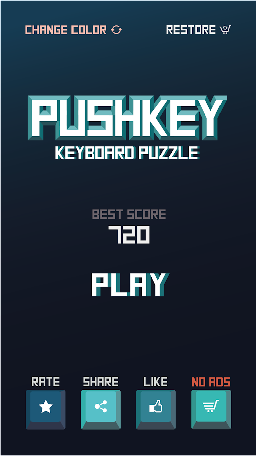 PushKey- screenshot