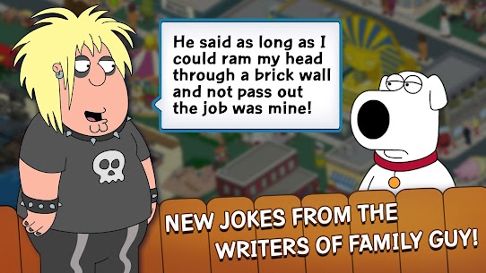 Family Guy The Quest for Stuff MOD 1.67.1 (Free Shopping) Apk 3