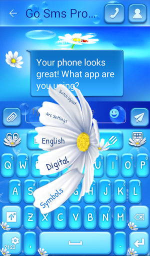 GO短信加强版花
