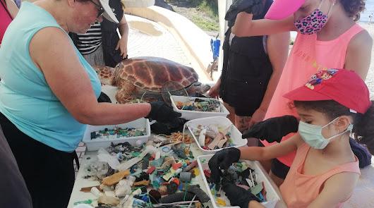 Celebrado el primer 'Ecodomingo' con la recogida de residuos en Adra