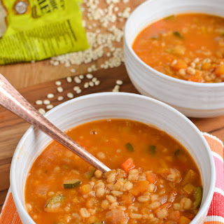 Vegetable and Pearl Barley Soup (Instant Pot, Stove Top).