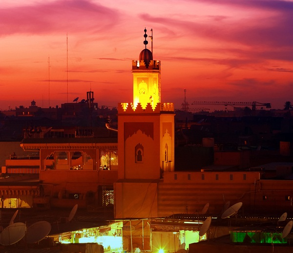 CRIMSON SKIES: Marrakech — the Red City of Morocco.