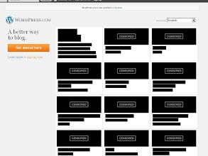 Photo: Die Blog-Software Wordpress setzt heute auf schwarze Balken. (wordpress.com)