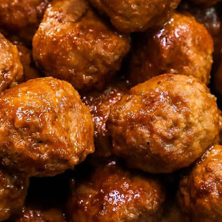 Slow Cooker Whiskey BBQ Meatballs Recipe