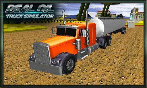 Oil Tanker Truck Drive Sim