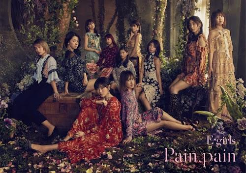 "Capa do single ""Pain, pain"" – Digital Edition."